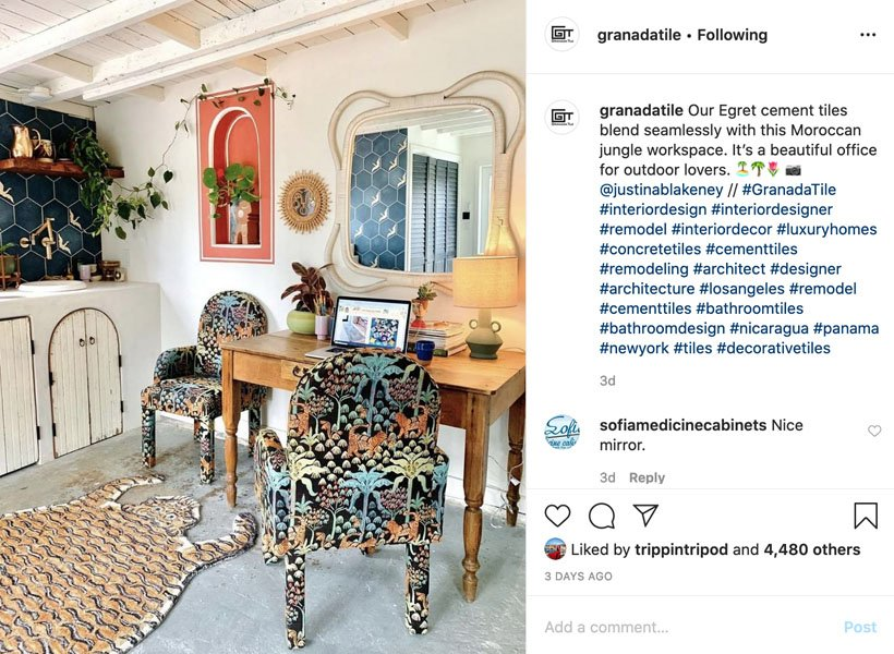 Granada Tile Instagram Post 3